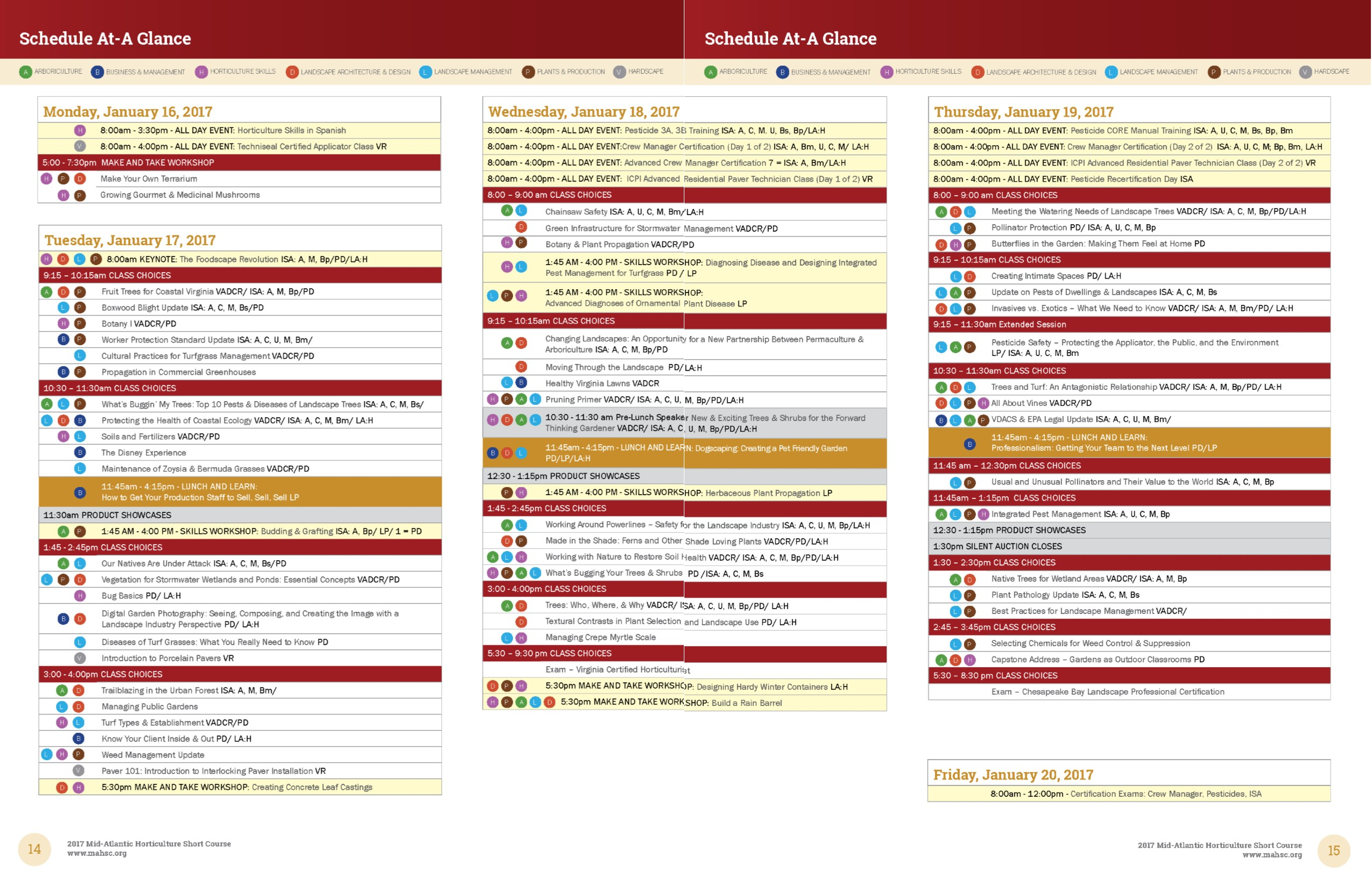 at-a-glance-schedule